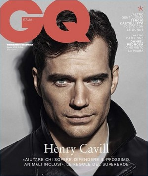 Henry Cavill - GQ Italia Cover - 2018