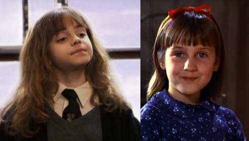 Matilda 바탕화면 called Hermione Granger and Matilda Wormwood