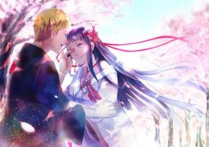 Hinata and Naruto  ❤