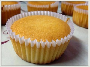 Honey Condensed sữa cupcake
