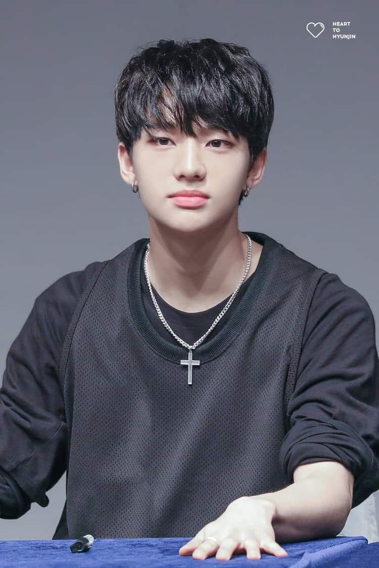 Stray Kids Images Hyunjin Hd Wallpaper And Background Photos