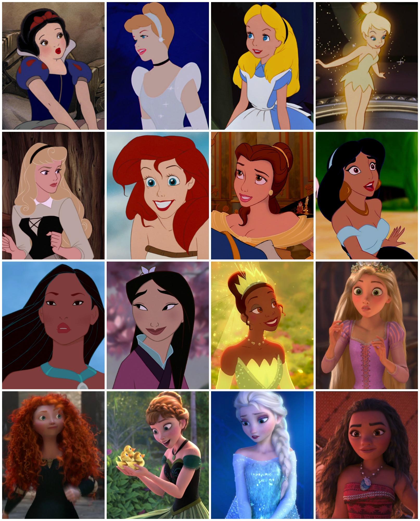 Iconic Disney Ladies