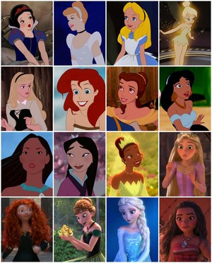 Iconic Disney Ladies