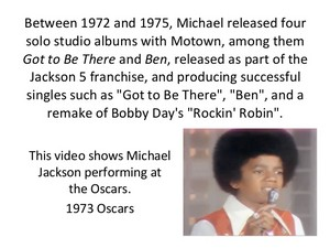Information Pertaining To Michael Jackson
