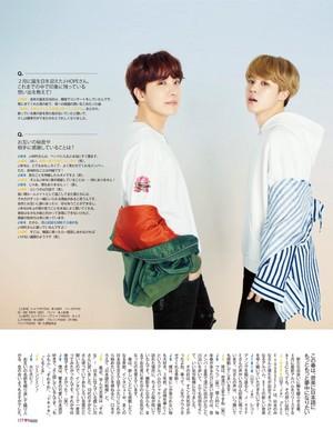 J-Hope and Jimin at еще Magazine 2018