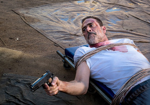 Jeffrey Dean morgan as Negan in 8x14 'Still Gotta Mean Something'