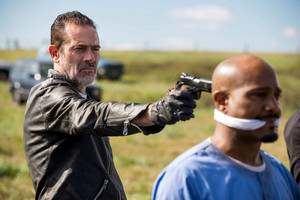 Jeffrey Dean morgan as Negan in 8x16 'Wrath'