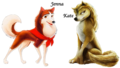 Jenna and Kate  - alpha-and-omega fan art