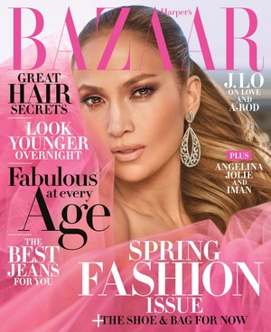 Jennifer Lopez for Harper's Bazaar US [April 2018]