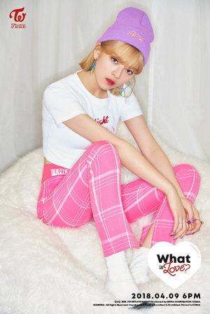 "Jeongyeon's 2nd teaser image for ""What is Love?"""