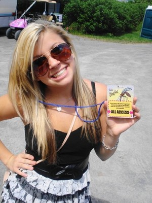 Jessica tyler backstage pass
