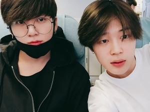Jimin and Jangkook