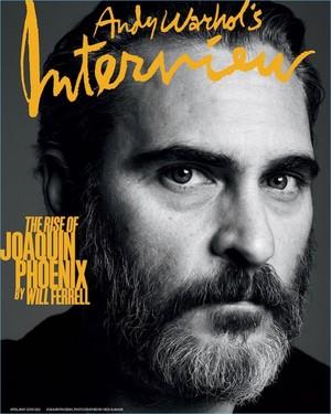 Joaquin Phoenix - Interview Magazine Cover - 2018