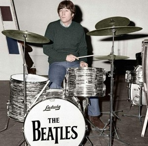 John and his drums?