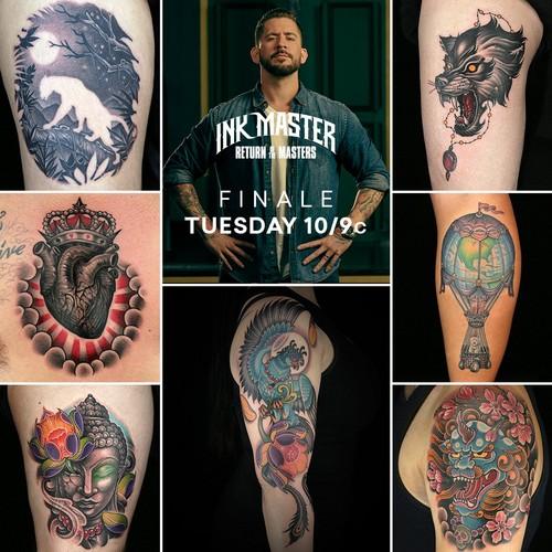 Ink Master wallpaper called Juan Salgado | Team Anthony | Ink Master: Return of the Masters