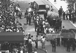 Judy Garland's Funeral In 1969
