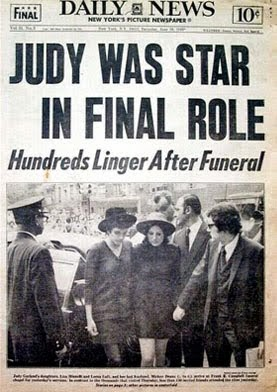 articolo Passing Of Judy Garland