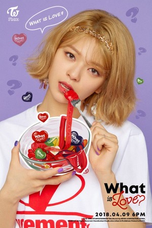 "Jungyeon's teaser image for ""What is Love?"""