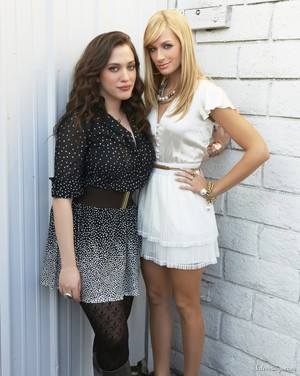Kat Dennings and Beth Behrs
