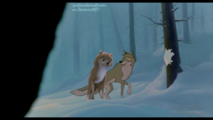Kate and Balto