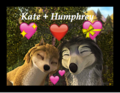 Kate and Humphrey  - humphry-from-the-movie-alpha-and-omega fan art