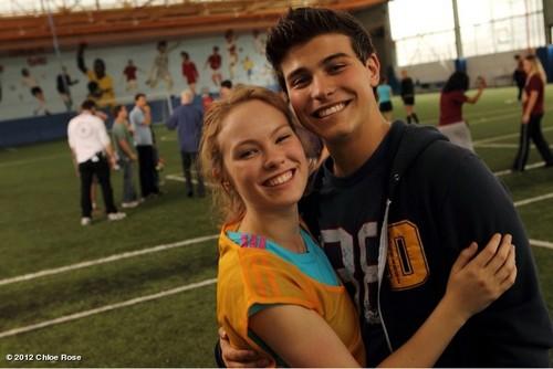 Degrassi: The siguiente Generation fondo de pantalla entitled Katie and Drew