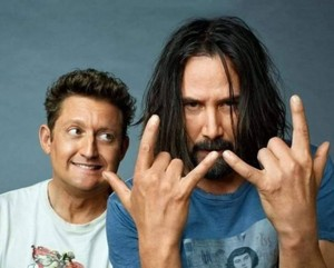 Keanu and Alex Winter ~ Entertainment Weekly 2018