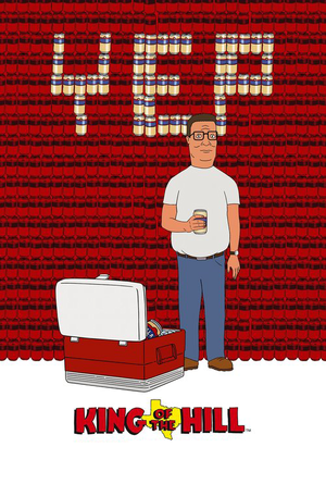 King of the Hill Poster ~ Yep