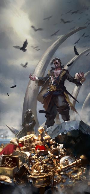 Kingsmoot Euron Greyjoy oleh zippo514