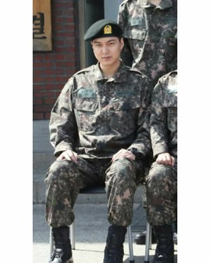 Lee Min Ho current foto inside NONSAN TRAINING CAMP