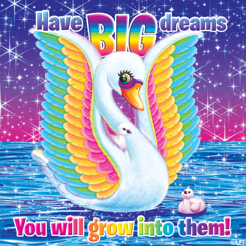 jlhfan624 achtergrond titled Lisa Frank Motivation