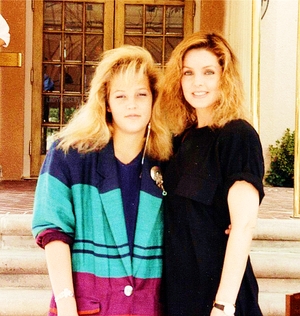 Lisa Marie And Her Mother, Priscilla