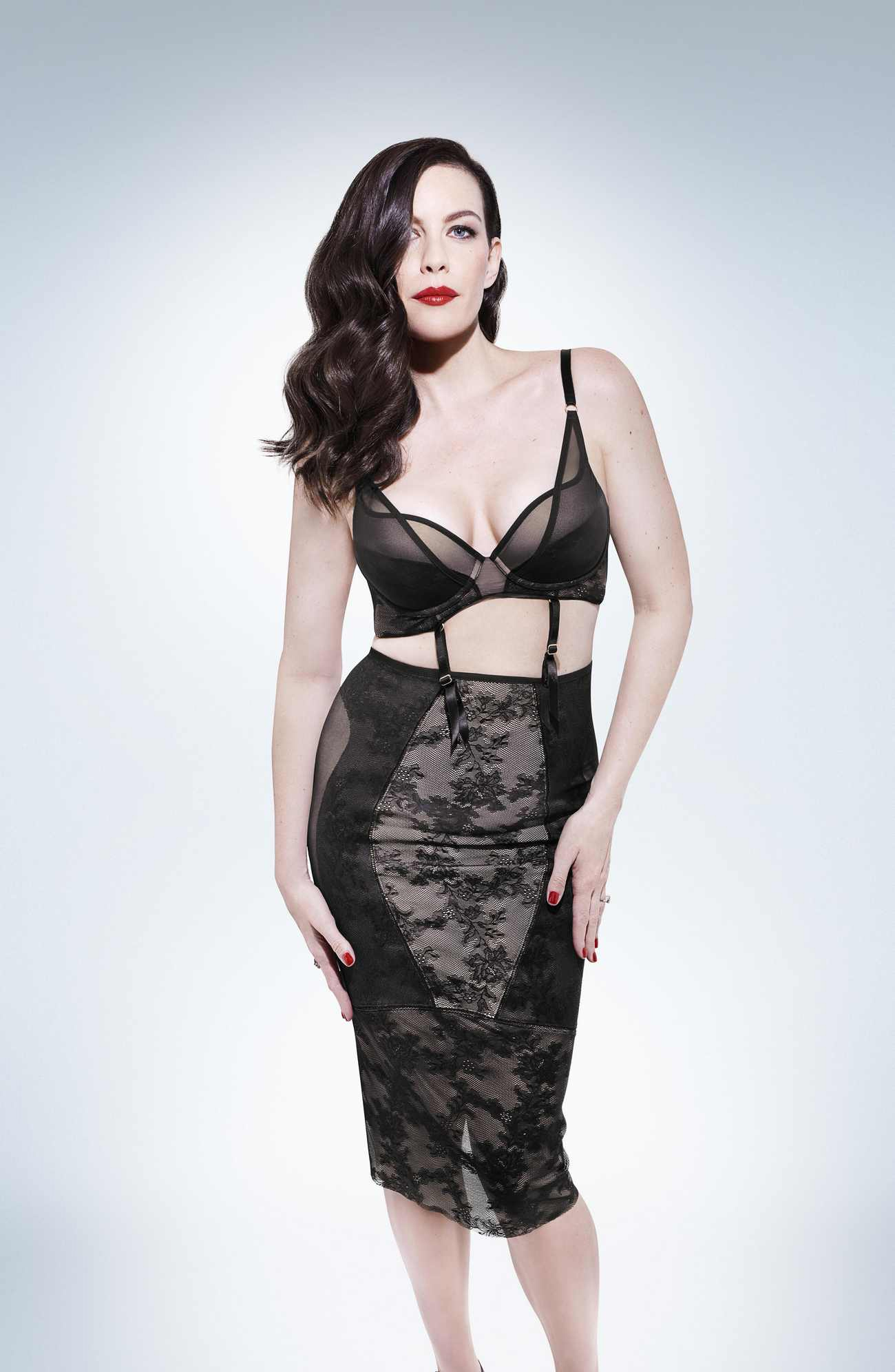 Liv Tyler - Triumph Lingerie Photoshoot - Spring/Summer 2018