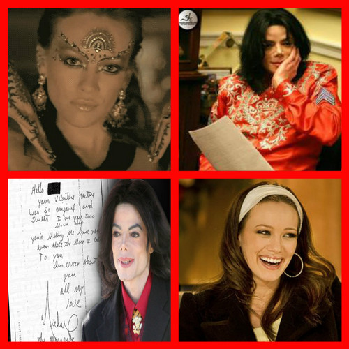 Lizzie McGuire wallpaper entitled Lizzie McGuire and Michael Jackson