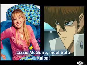 Lizzie McGuire meet Seto Kaiba