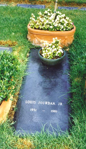 Louis Henry Jourdan, Jr grave