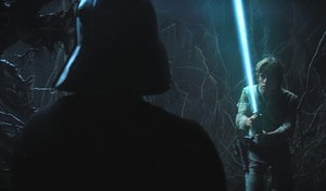 Luke Vs image of Vader