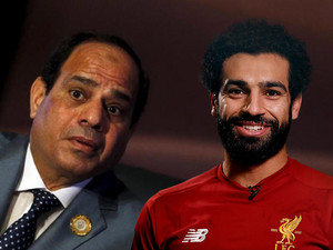 MOHAMED SALAH AND ELSISI