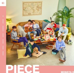 MONSTA X 「PIECE」 Album covers