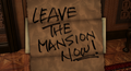 Message in a Haunted Mansion