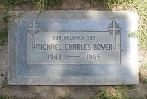 Michael Charles Boyer grave