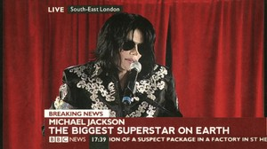 Michael Jackon - The World's Biggest Superstar, Declared door BBC