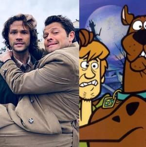 Misha and Jared
