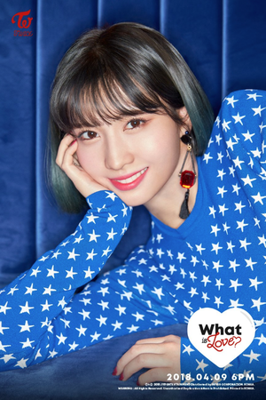 "Momo 2nd teaser image for ""What is Love?"""