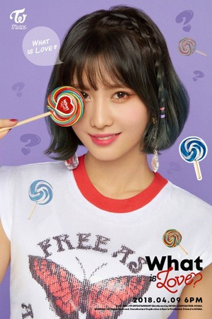 "Momo teaser image for ""What is Love?"""