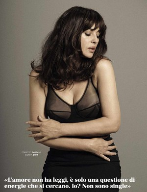 Monica Bellucci for GQ Italy [August 2015]