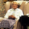 Mrs. Doubtfire with a letter