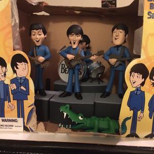 My Beatles Cartoon Figurines!