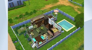 My Sims 4 Builds ~ Bachelorette Pad