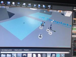 My VR example scene